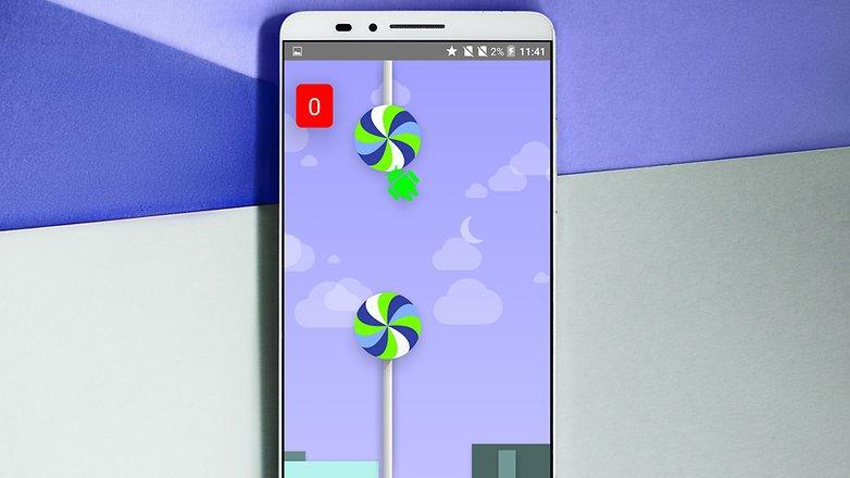 AndroidPIT ANDROID Пасхальное яйцо Lollipop