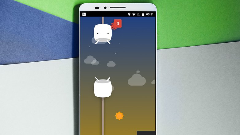 AndroidPIT ANDROID Пасхальное яйцо Marshmallow