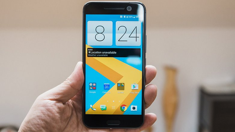 AndroidPIT HTC 10 Руки на 5033