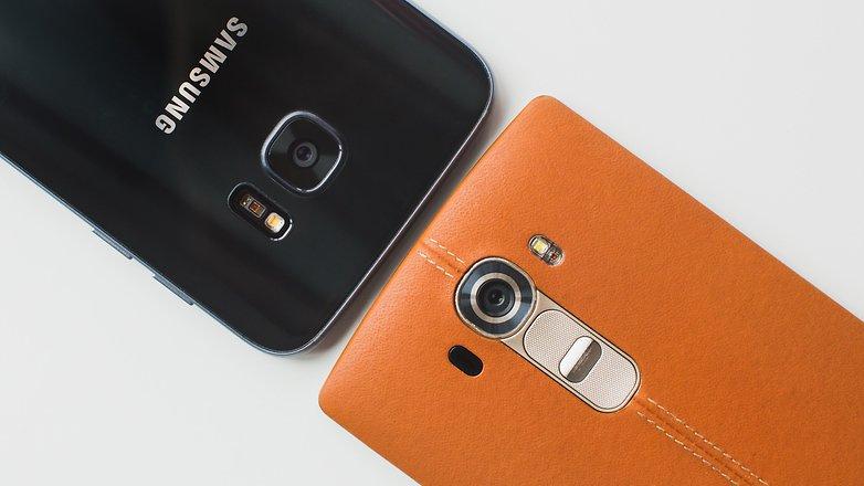 AndroidPIT Samsung Galaxy S7 Edge против камеры LG G4 2203