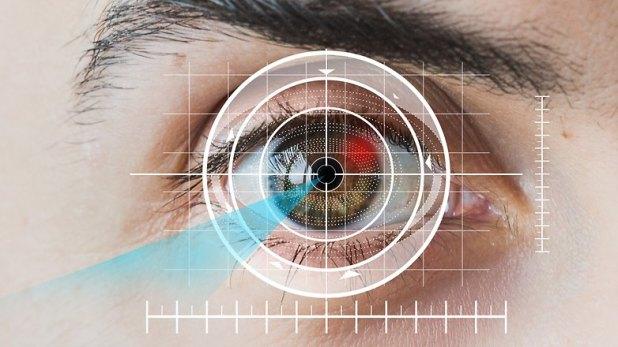 AndroidPIT eye sensor scanner