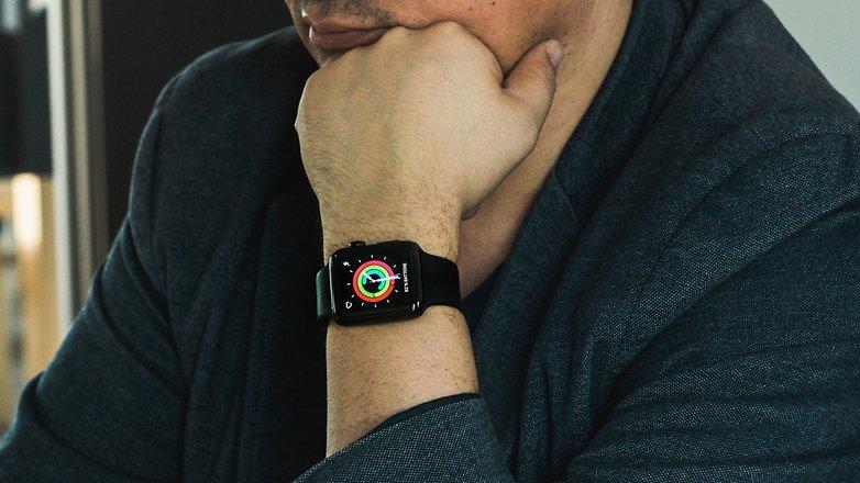 Носимые умные часы AndroidPIT Apple Watch 0394