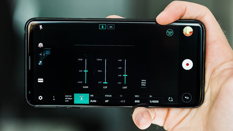 AndroidPIT LG V30 журнал камеры видео 9091
