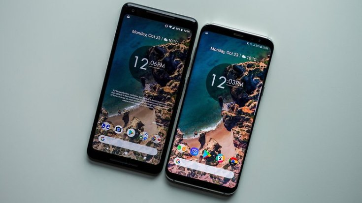 AndroidPIT pixel 2 xl display 1450