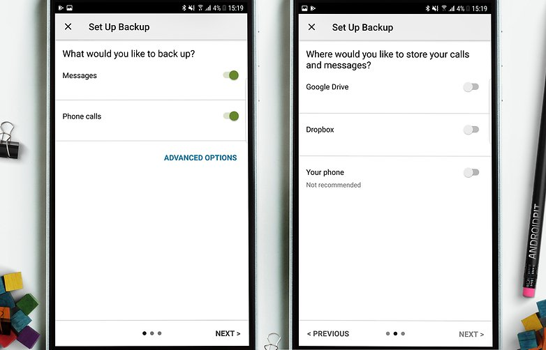AndroidPIT sms backup 2