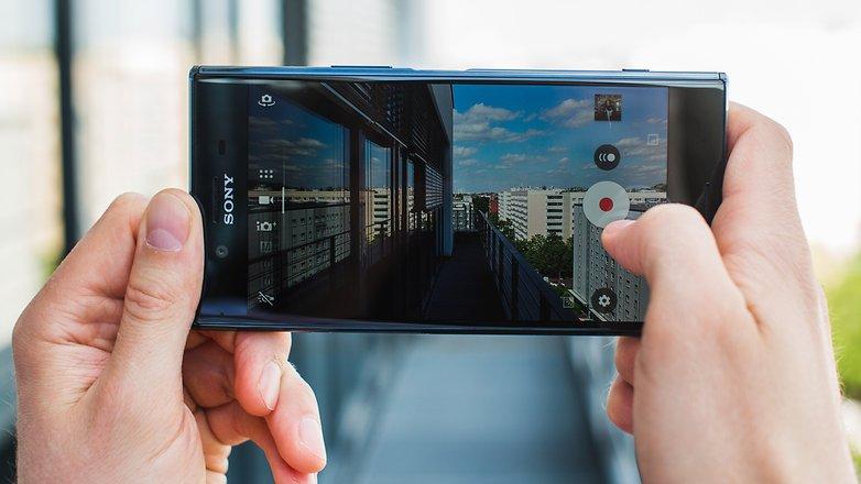 AndroidPIT Sony Xperia XZ Premium Motion Capture Eye 0162
