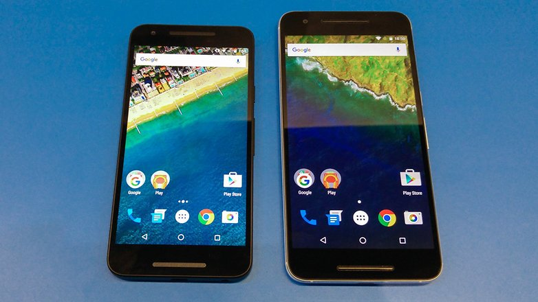 Nexus 5X против Nexus 6P 1