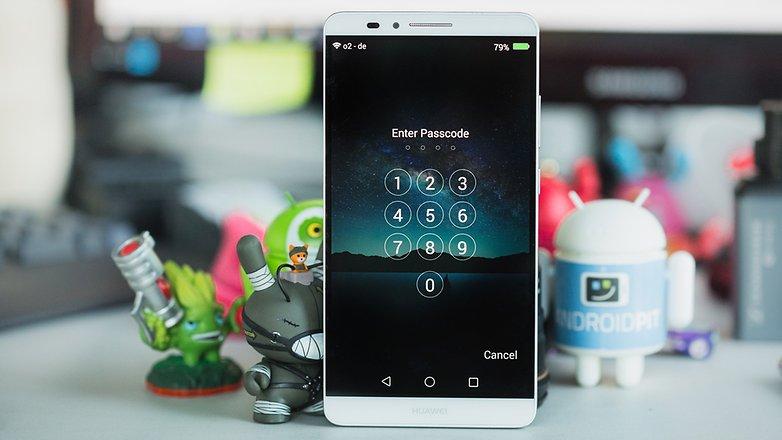 Экран блокировки AndroidPIT Huawei Mate7 1