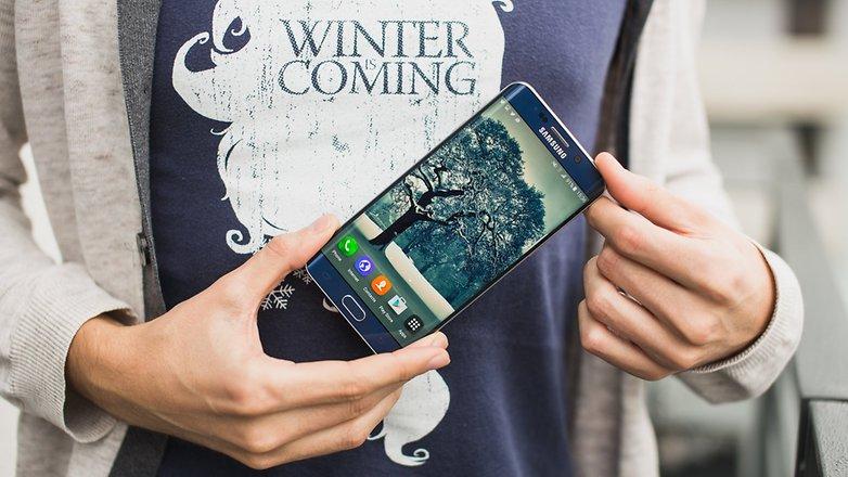 androidpit Samsung Galaxy S6 Edge плюс 5