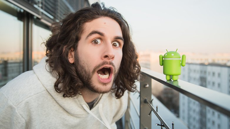 AndroidPIT Скотт удивил Android 5