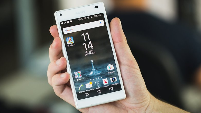 ANDROIDPIT лучший XPERIA Z5 COMPACT 1