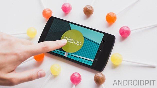 Пасхальное яйцо на палочке Android Lollipop 2