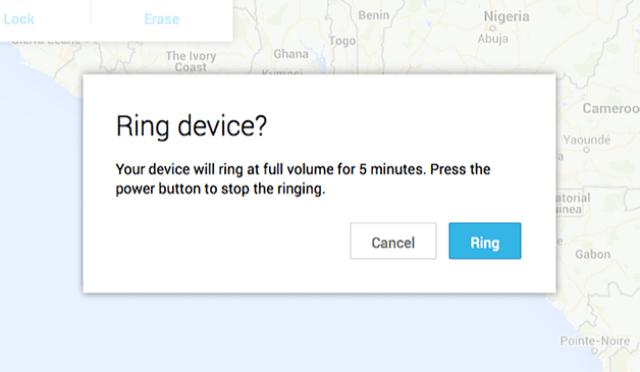 menghapus data Android dari jarak jauh