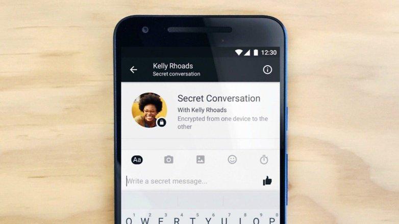 Секретный чат FB messenger