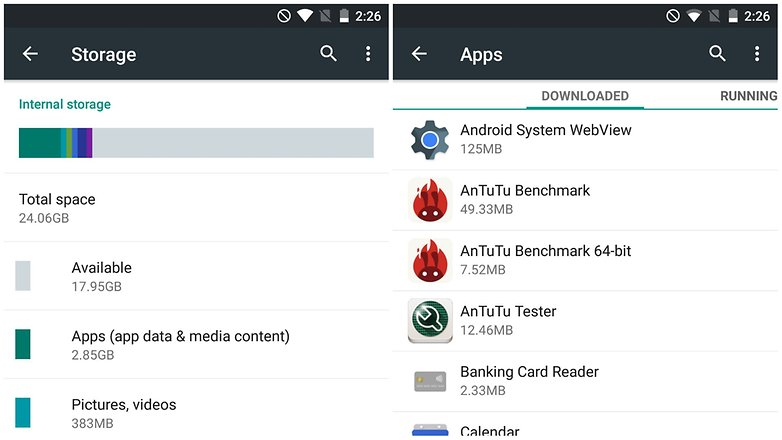 increase volume android