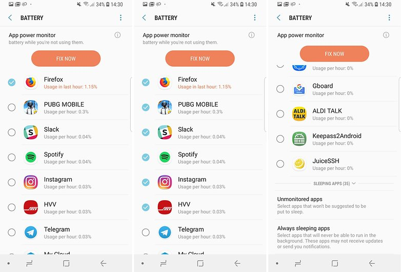 Советы по работе с аккумулятором AndroidPIT Samsung Galaxy S9 06