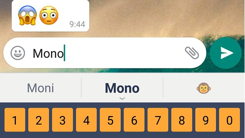 Search emoji whatsapp