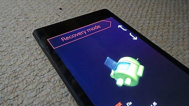 AndroidPIT nexus 7 2013 режим восстановления