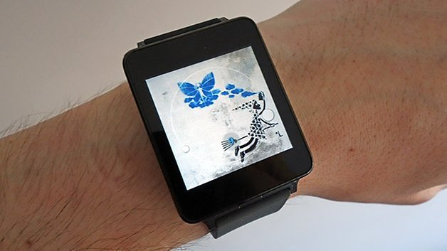 androidpit android wear lg g часы