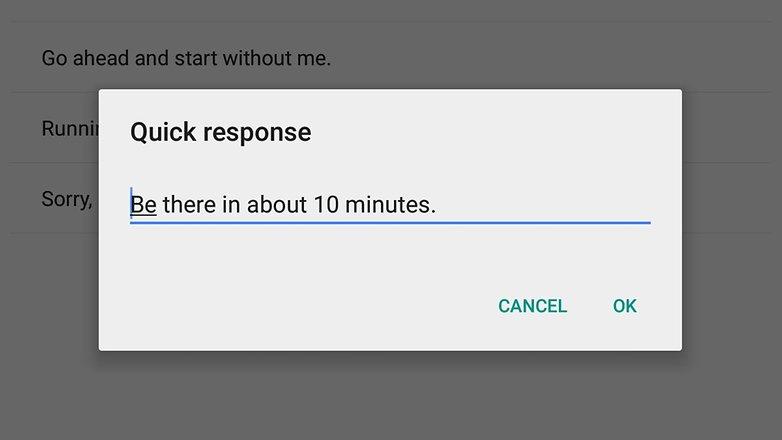 androidpit Google Calendar быстрые ответы