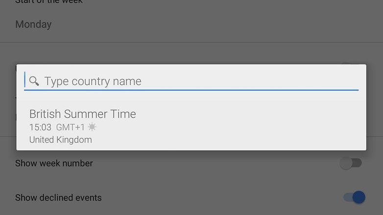 часовой пояс календаря google androidpit