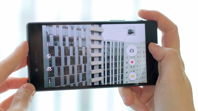 обзор камеры xperia z5 PT UI hero