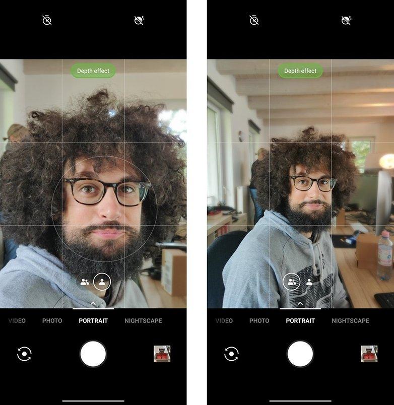 Android 10 OnePlus 7 Pro Портрет
