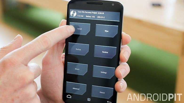 AndroidPIT Nexus 6 TWRP recovery install 2