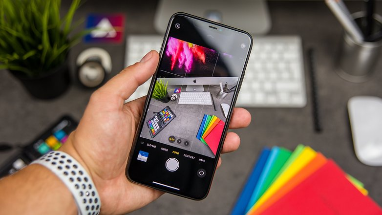 AndroidPIT iphone 11 pro max в руках 3