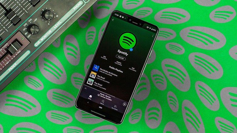 Spotify потоковая передача