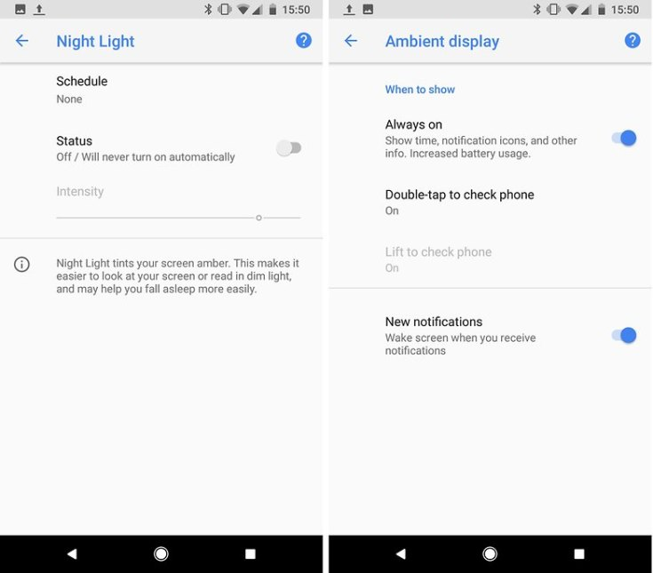 androidpit features screen pixel 2