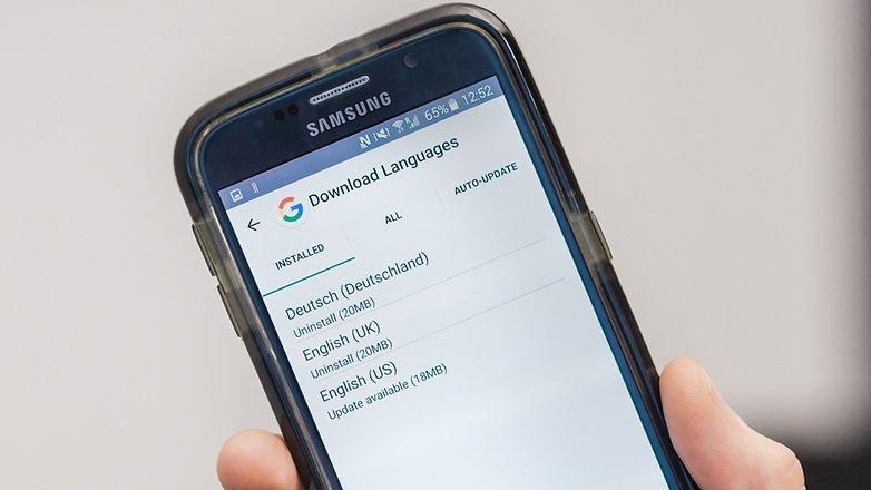 AndroidPIT Google теперь загружает языки