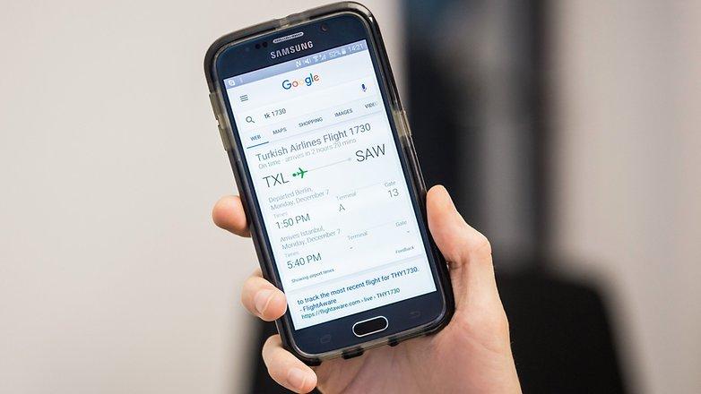 AndroidPIT Google Now Flight карты