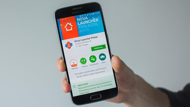 AndroidPIT nova launcher магазин Google Play 1