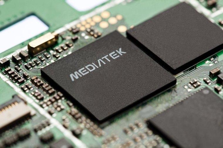 MediaTek IC close up