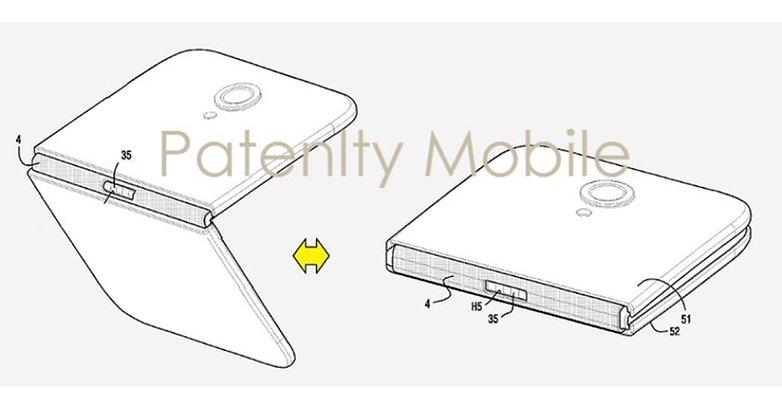 Novas patentes do Galaxy X são divulgadas, mas parece que