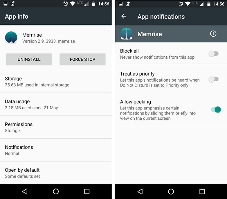 androidpit marshmallow app notifications