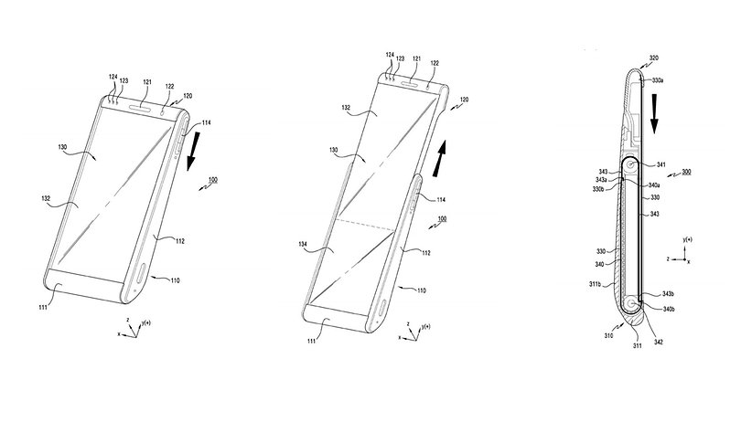 Samsung has patented a futuristic rollable smartphone