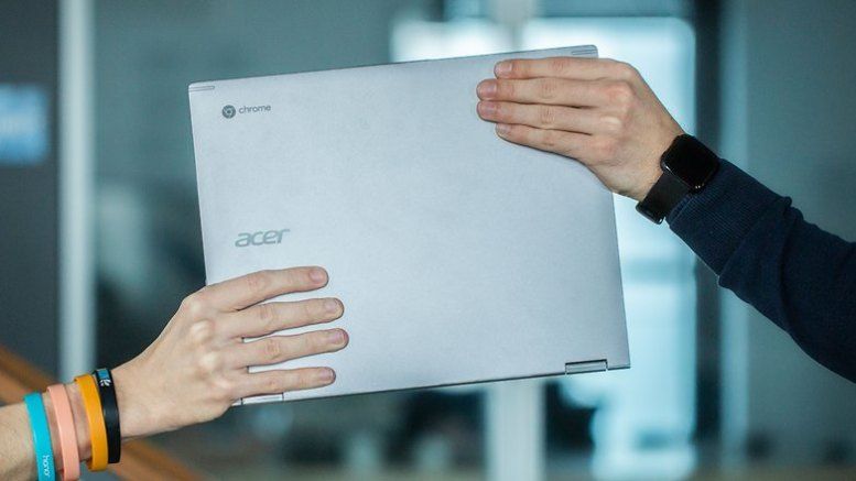 AndroidPIT Acer Chromebook Spin 13 handover