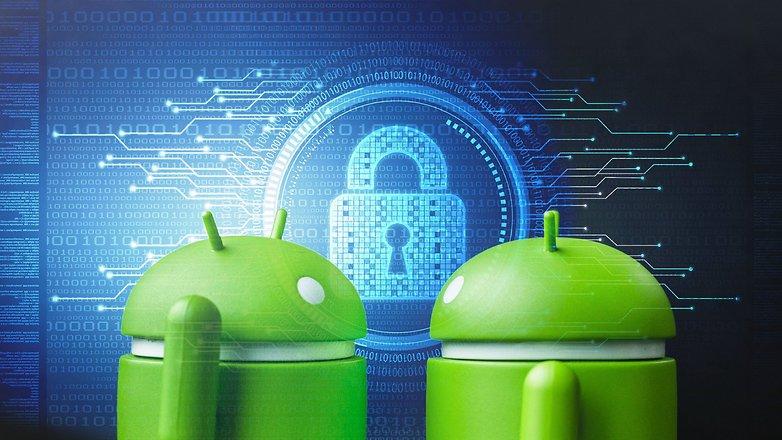 AndroidPIT зашифрованный безопасный замок безопасности заблокированные замки 1