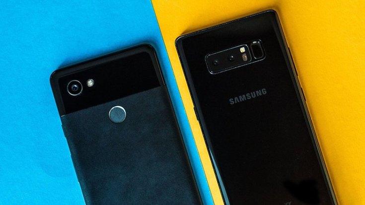 AndroidPIT google pixel 2 xl vs samsung note 8 cameras
