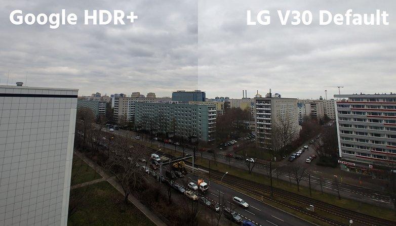 Приложение AndroidPIT lg v30 по умолчанию против hdr plus2