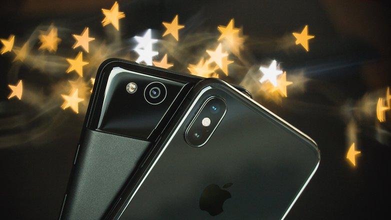 iphone x пиксель 2 боке