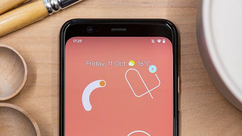AndroidPIT дисплей google pixel 4 ggl