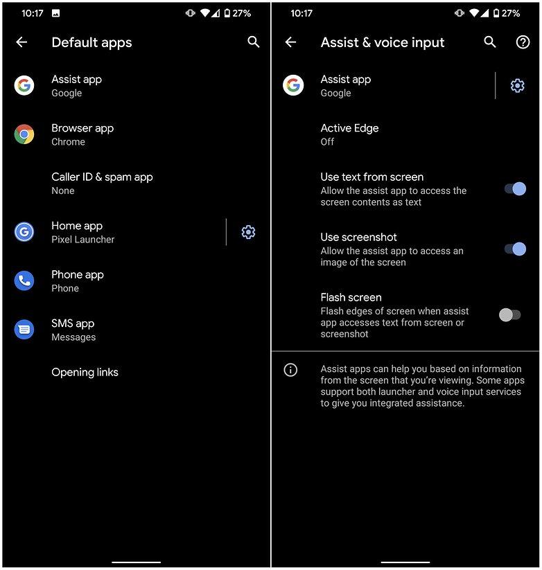 деактивировать Google Assistant2