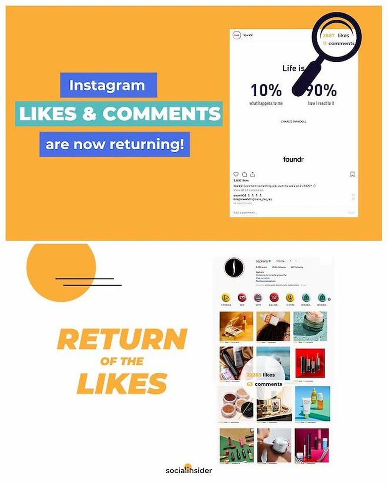 посмотреть лайки instagram