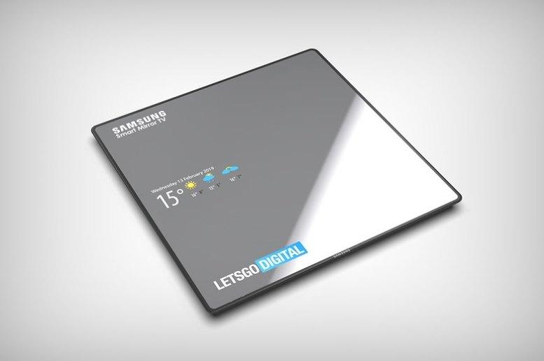 samsung smart mirror tv 1