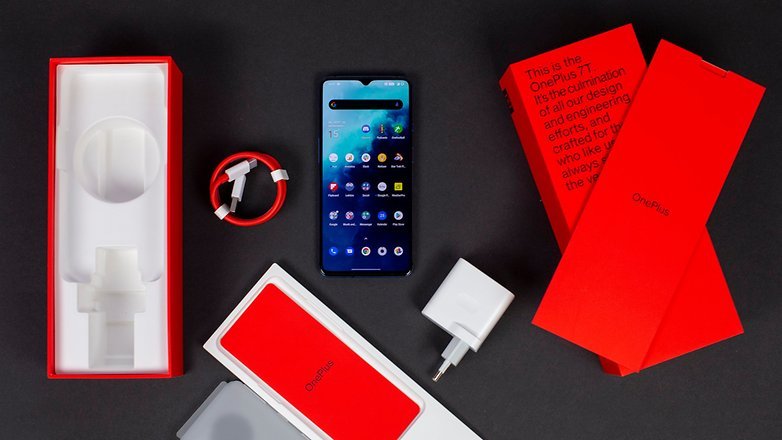 AndroidPIT OnePlus 7T Box Content 2