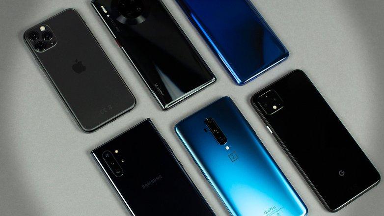 AndroidPIT Лучшие смартфоны высокого класса - герой 4