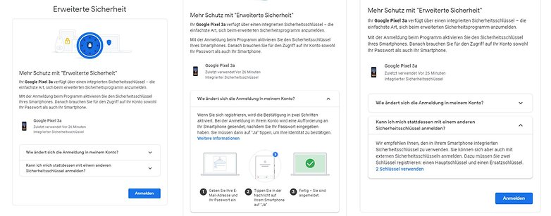 Расширенное приложение безопасности Google